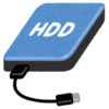 外付HDD→マイクロSDでスッキリ