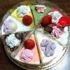 母の日ケーキとまるちゃん