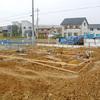 工事11日目:基礎型枠設置