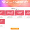 GearBest 新規購入者SUPER Coupons!色々10%OFFで買えるみたい♪