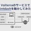 Volterraのサービスでintdashを動かしてみた