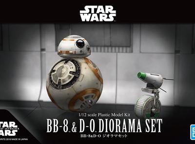2体のドロイドの競演!1/12 BB-8 & D-O ジオラマセットのご紹介