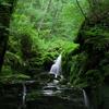 蓼科高原の近くにある蓼仙の滝を撮影しました