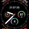 Apple Watchの円形コンプリケーションは数字だけでわかる情報を配置