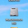 Mac Finderの設定 システムディスクをデスクトップに表示する