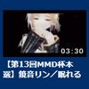 第13回MMD杯本選『眠れる森』を投稿