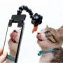ペットの「カメラ目線ドアップ写真」が撮れると話題!ドスパラが「ペット自撮りスティック」を発売開始!