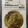 リヒテンシュタイン1728年10ダカット金貨リストライクMS65