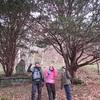 初冬のクッタラ古道を歩く