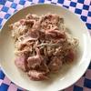 ペペロンチーノ素麺