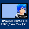 エディットPV『KAITO / Yes Yes』を投稿
