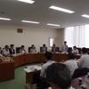 いわぶち友参議院議員ら、3人の新参議院、衆議院議員、日本共産党8人の国会議員が福島県の現地調査に来県
