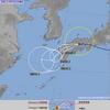 台風12号は29日09時現在で倉敷市付近にあって中心気圧は990hPa・最大風速は23m/s・最大瞬間風速は35m/s!29日に昼頃にかけて暴風域を伴って西日本を西に進む見込み!