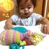【作り方あり】小さく生まれた赤ちゃんにタコを贈ろう!追記:編み図のご提供をいただきました。