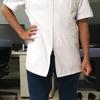 白衣専門店でデザイン半袖白衣を2着買った
