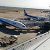 羽田空港の展望デッキは広々で良い!