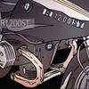 バイクのイラスト BMW R1200ST