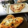 ハート型ピザの作り方〜手作りピザ4種〜そり滑りinドイツ