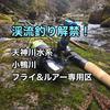 鳥取県【天神川水系フライ・ルアー専用区】渓流釣りをするためのポイントとタックルについて『小鴨川』