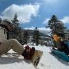 春スノーボード Insta360 ONE X2で撮影 INピラタス蓼科
