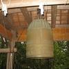 勝木の八幡の鐘楼