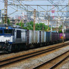 7月9日撮影 東海道線 平塚~大磯間 貨物列車3本撮影 3075ㇾ 5095ㇾ 2079ㇾ