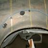 1971 マスタングマッハ1 左クォーターパネル3 型取り2