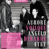 マヌーシュ・ジャズ界で活躍中のAurore Voilque、ヴァイオリンは、鈴木メソード仕込み。