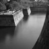 モノクロの大阪城石垣
