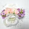 ダイソーの造花で。母のコサージュをリメイク