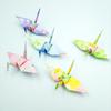 新作「柔らかな陽のもとで。ふんわりパステルの折り鶴」発表のお知らせ