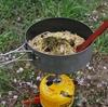 山メシ!きのこと野沢菜のパスタを作ってみた