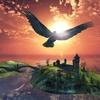 『Raven』空と海が美しい島をカラスになって飛び回る鳥アプリ