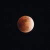 皆既月食 2018/01/31撮影 手持ちは大変だけど赤月は撮れました。#皆既月食