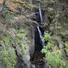 梅島温泉から歩いて行ける三段の滝(静岡市葵区)