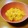 レンジで玉ねぎ卵丼。5分で完成