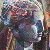 アクリル絵具「フラクタルのエチュード」