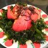 【1食42円】ワカメとトマトの塩昆布サラダの自炊レシピ