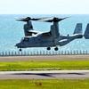 大分空港のオスプレイが離陸 緊急着陸から11日目