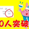 【突破記念】読者登録数100人突破しました!