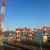 関門海峡の絶景、火の山公園
