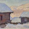 モネ『雪中の家とコルサース山』に関するメモ