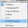 Post Processing Stack(v2) を動的に操作するscript