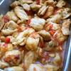 鶏のトマトカレー風味