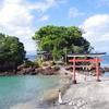 満潮時には渡れない。美しい海が見れる鹿児島県の菅原神社(荒平天神)に行ってきました。