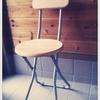カインズホームの折りたたみ椅子をアイアン風にDIY。