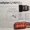 072 LILIPUT HOe Diesellok,VL6 DZ123 デコーダーの組み込み