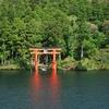 箱根は三島から行くのもおススメと思う。10時前の元箱根はとても静か