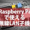 Raspberry Piで使える無線LAN子機の設定および消費電力と速度比較。