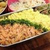 【1食169円】鮭フレーク丼弁当レシピ~レンジで簡単!人気の味が甘塩鮭+みりんで安くて美味しく作れます~【パパ手作り節約弁当】